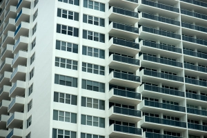 Apartment building exterior free stock photo