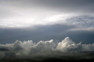 Clouds over Austin free stock photo