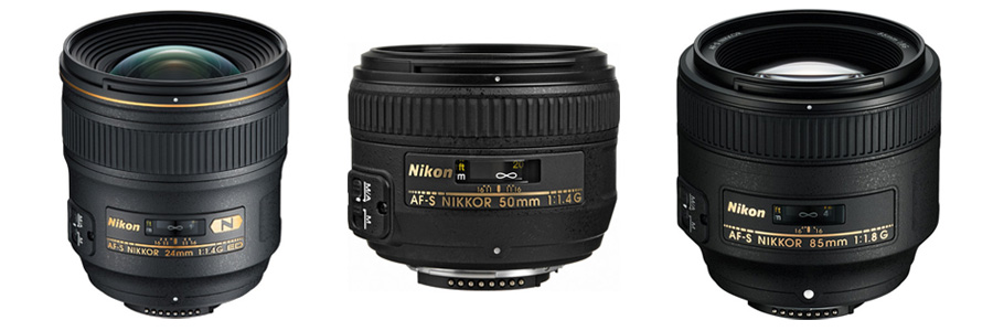 Top-notch Nikkor prime lenses