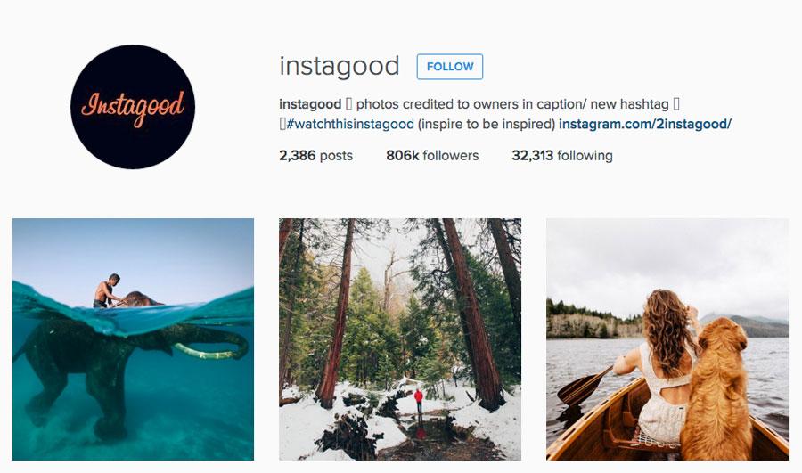 Instagood instagram profile