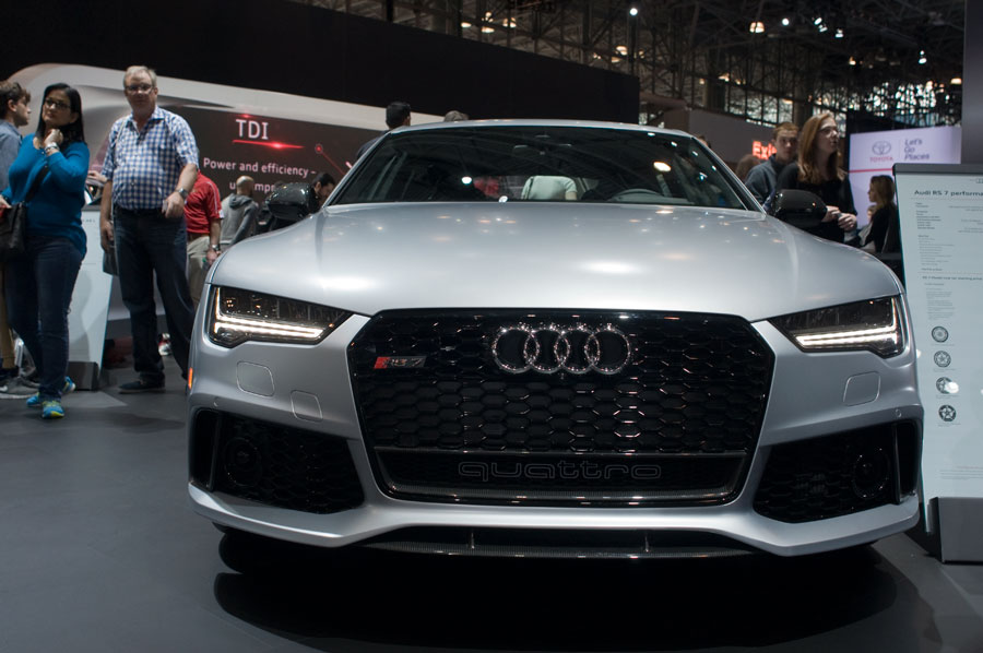 Audi RS7 luxury sedan
