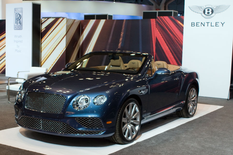 Bentley Continental GT V8 S Convertible at the 2016 NY Int'l Auto Show