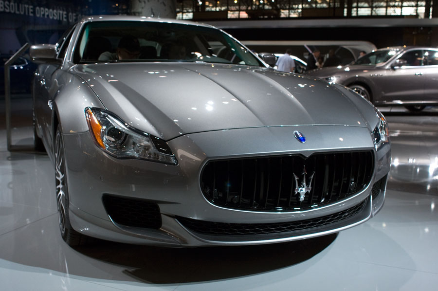 2017 Maserati Quattroporte at the 2016 NY Int'l Auto Show in NYC