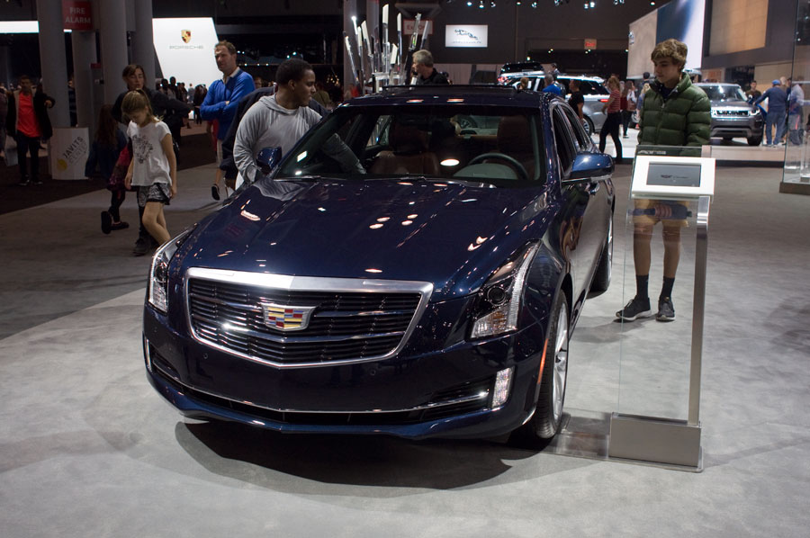 2017 Cadillac ATS sedan at the 2016 New York International Auto Show