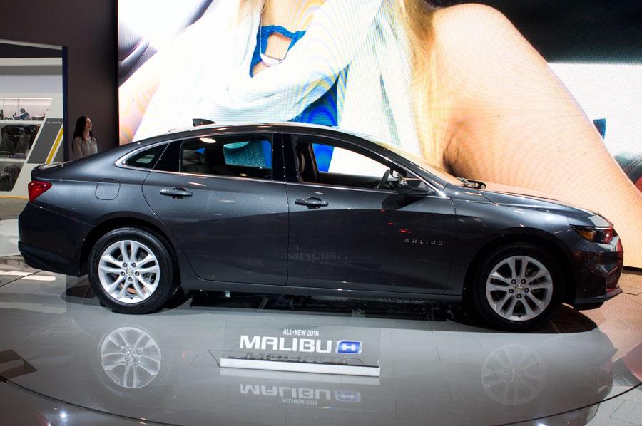 Chevy Malibu Hybrid 2016 model