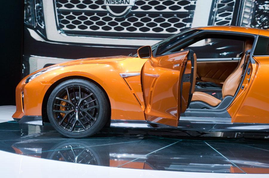 2017 Nissan GT-R.