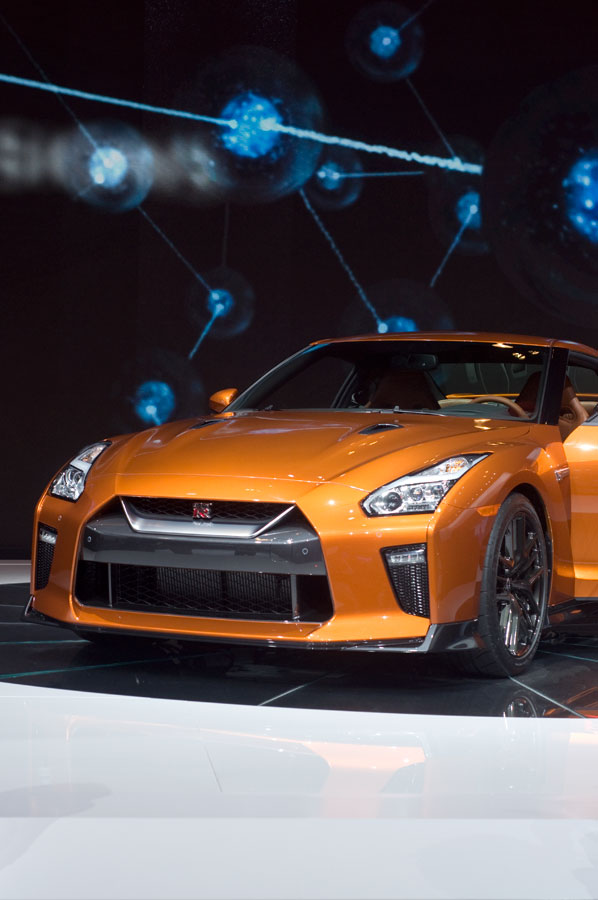 2017 Nissan GT-R high performance coupe.