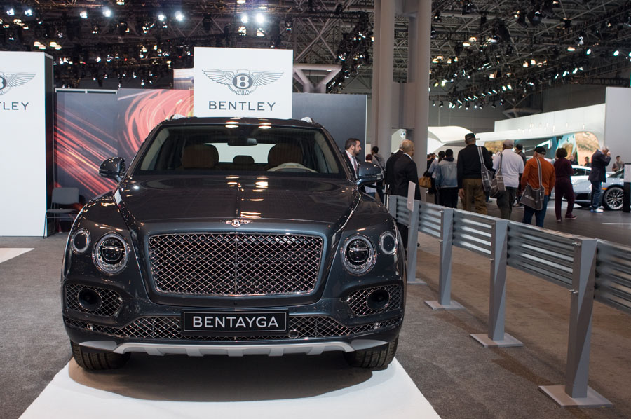 2017 Bentley Bentayga Sport Utility Vehicle