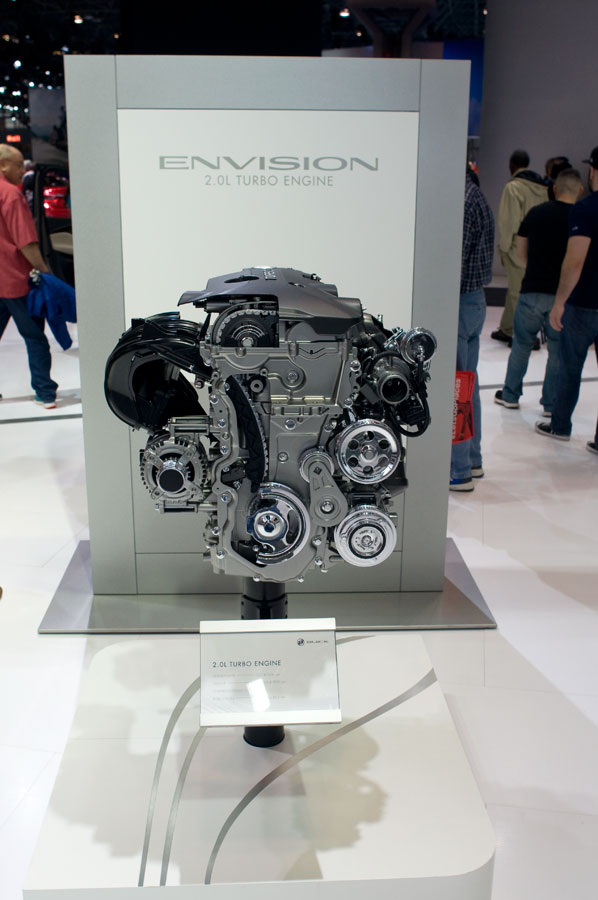 Buick Envision 2.0-liter turbo engine
