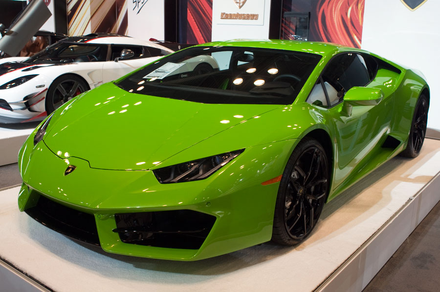 Lamborghini at the 2016 New York International Auto Show