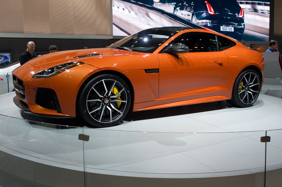 2017 Jaguar-F Type SVR at the 2016 NY Int'l Auto Show in NYC