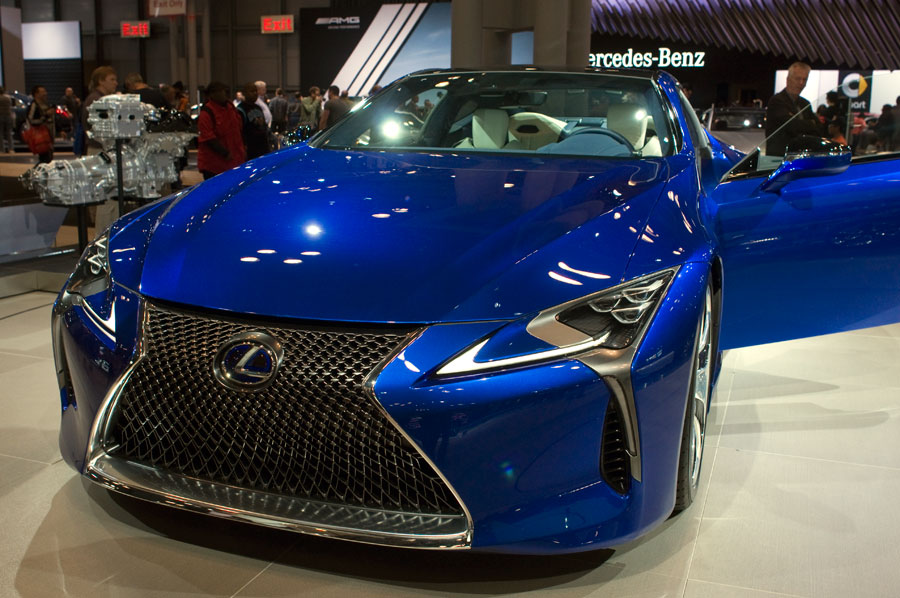 All-new Lexus LC500h sports coupe