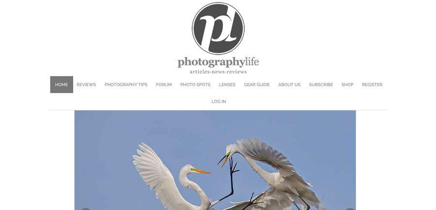 PhotographyLife.com screenshot
