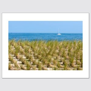 Distant boat in Atlantic Ocean limited edition photographic print