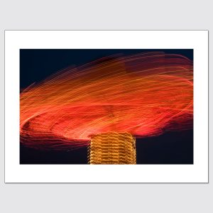 Carousel in motion limited edition photographic print.