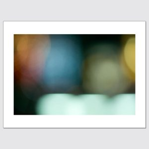 Colorful bokeh limited edition photographic print