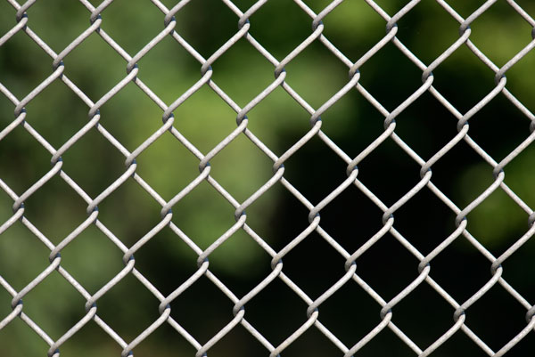 free stock photo of chain link fence