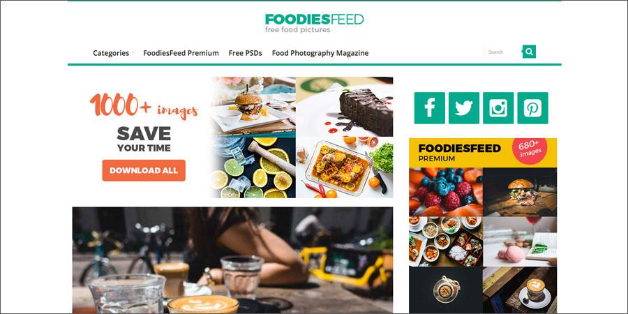 FoodiesFeed free food stock photography
