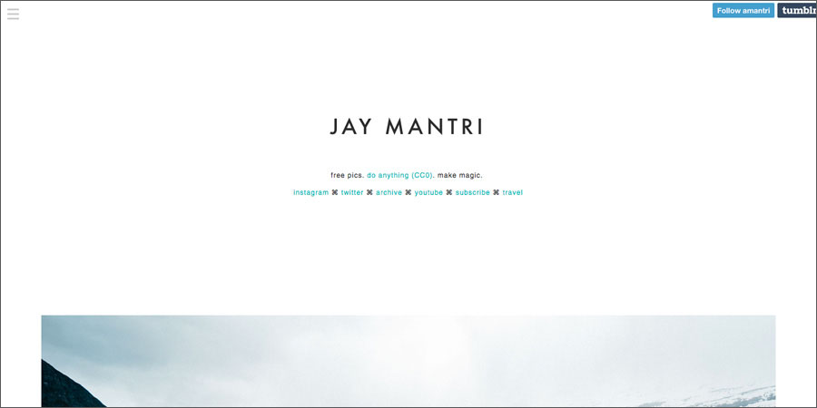 Jay Mantri free stock photography website
