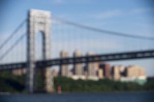 George Washington Bridge abstract background