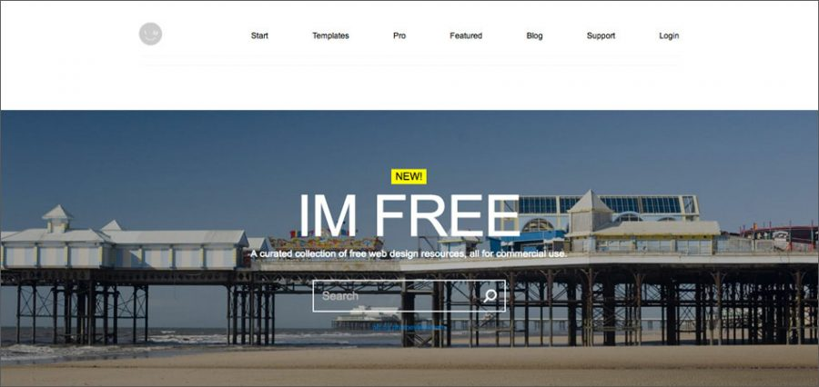 IMCreator free stock photo website