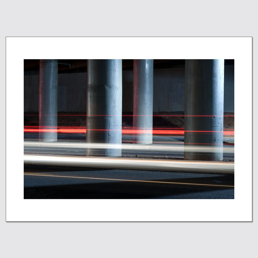 Light trails limited edition photo print