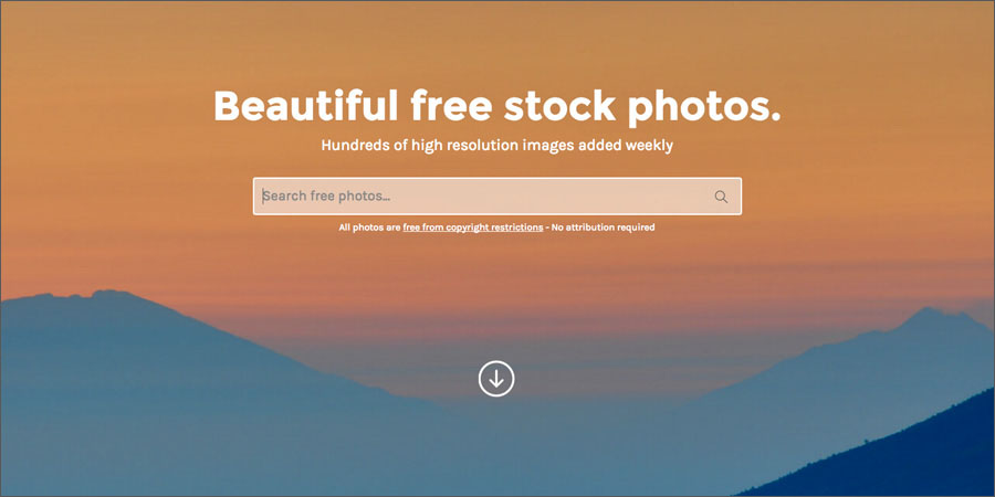 StockSnap free stock photo website
