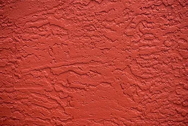 Red, textured exterior wall free stock image