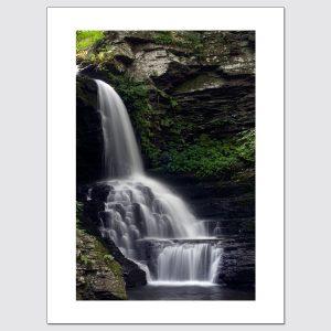 Limited Edition Photo Print – Waterfall at Bushkill Falls in Pennsylvania