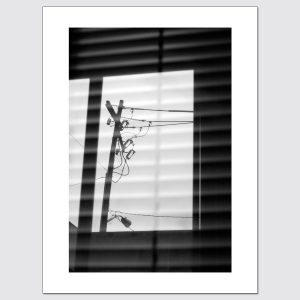 Abstract window reflections limited edition photographic prints