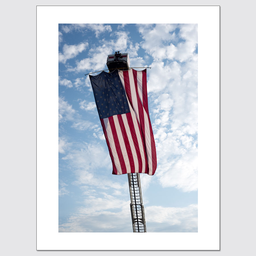 Gigantic American flag limited edition high-end wall art