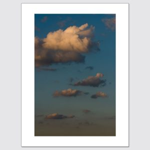 Clouds at dusk limited edition wall art