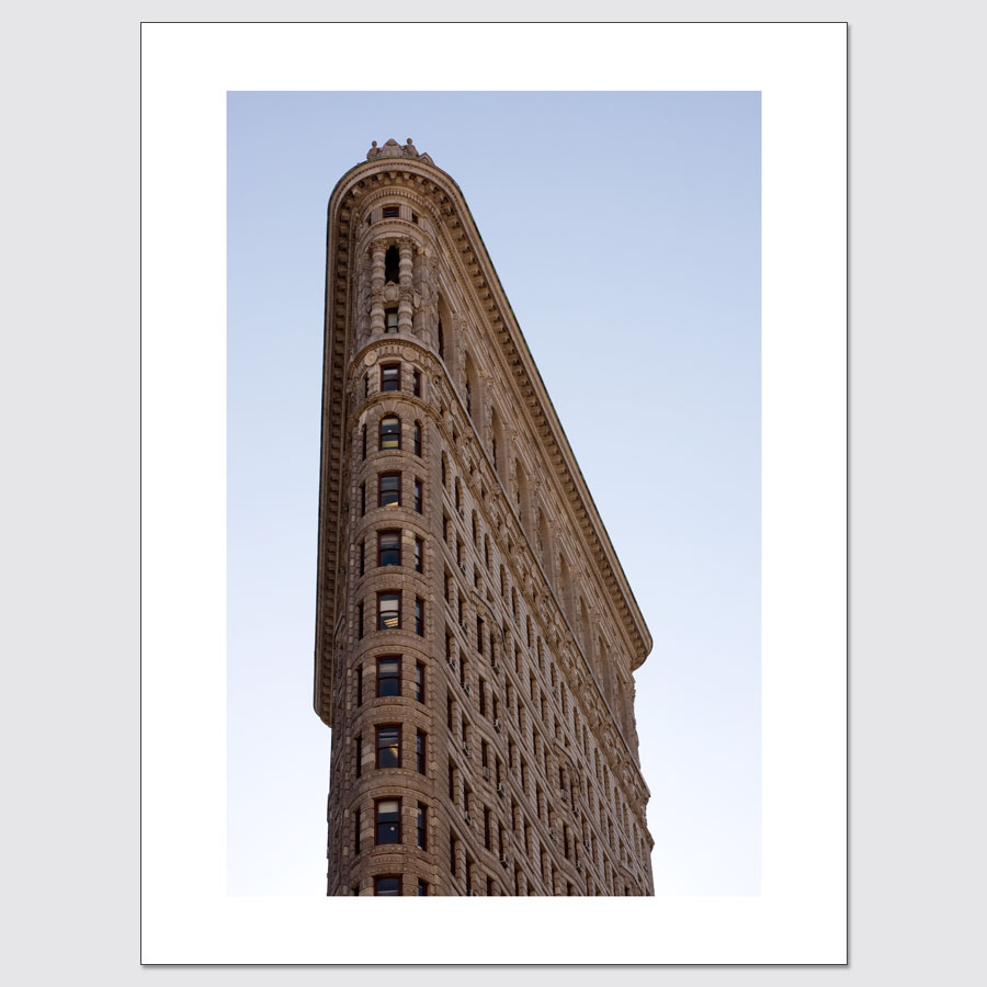 Flatiron Building limited edition photo print, available in 3 sizes