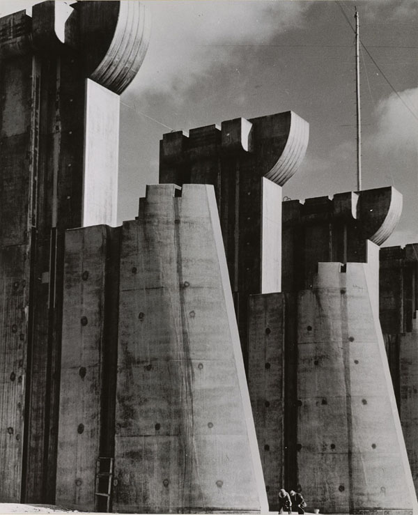 Fort Peck Dam by Margaret Bourke-White
