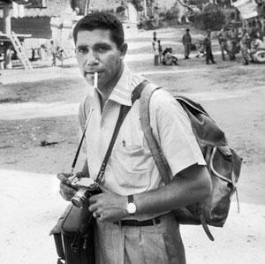 LIFE photographer John Dominis in Indonesia, 1958.