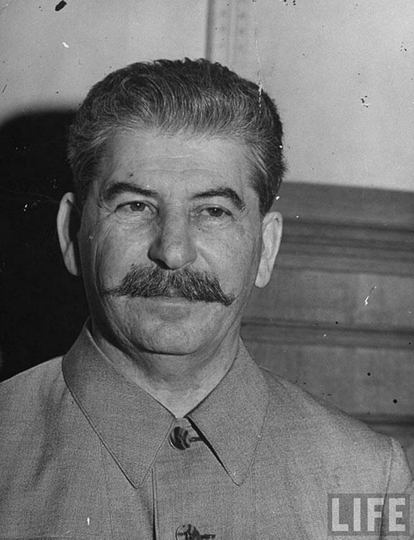 Josef Stalin portrait during World War II by Margaret Bourke-White
