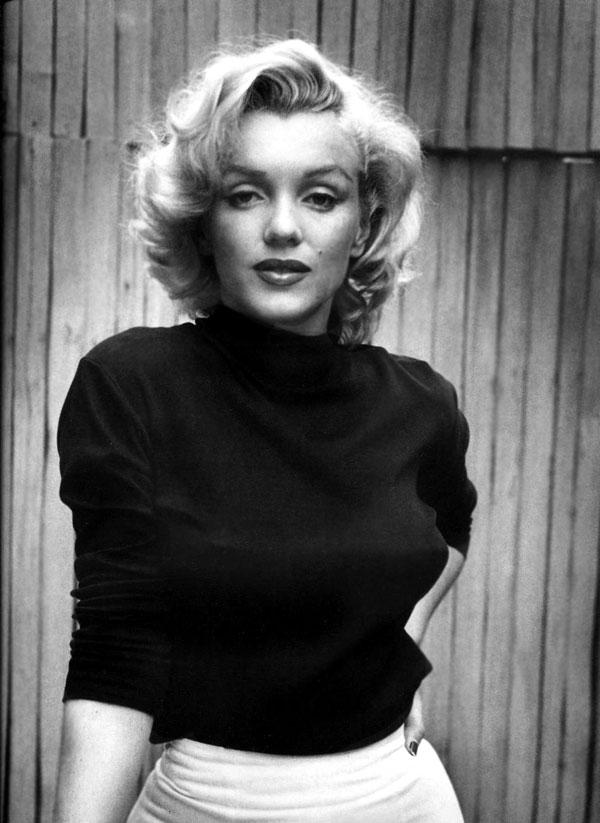 Marilyn Monroe portrait by Alfred Eisenstaedt