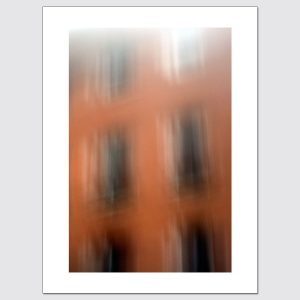 Brick building abstract limited edition photo print