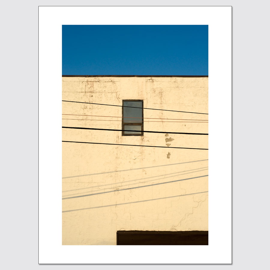 Power lines and shadows limited edition photo print