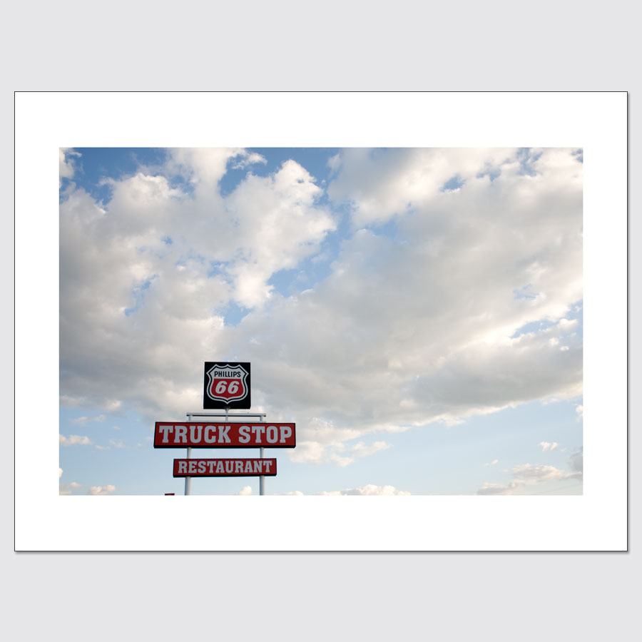 Limited edition print of Phillips 66 Truck Stop