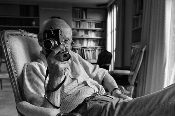 Henri Cartier Bresson by John Loengard.
